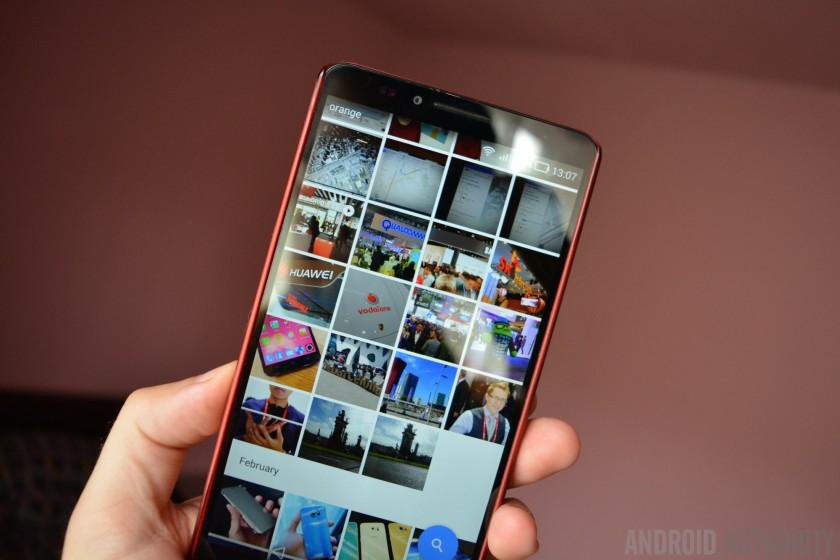 Bilder und Videos auf dem Handy speichern